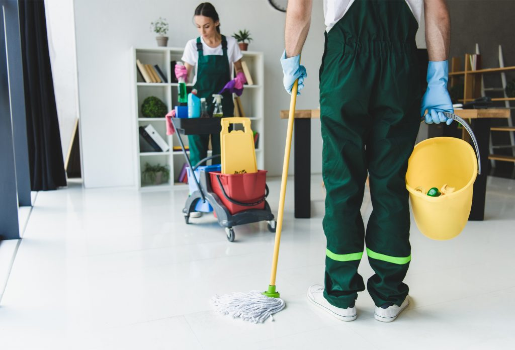 How a Commercial cleaning service keeps your tenants happy